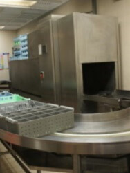 Hobart Continuous Tray Washer