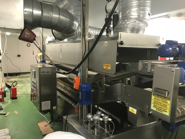 Bulldog 3000 600 electric fryer installed in a Uk factory