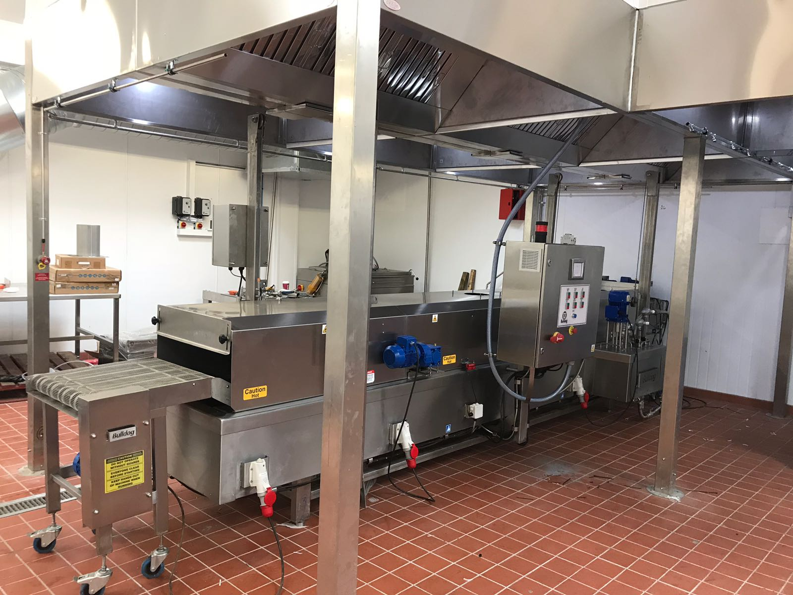 Bulldog 3400/600 Electric Fryer