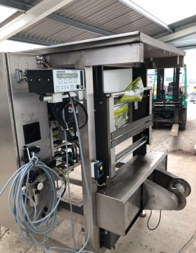 sandiacre 320 form fill seal machine